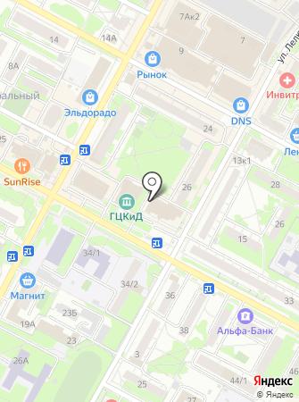 Ночной на карте