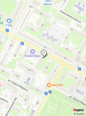 Макиато на карте