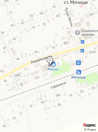 Хозмастер на карте