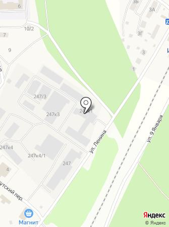 Лён & Джут на карте