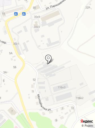 Эмити на карте