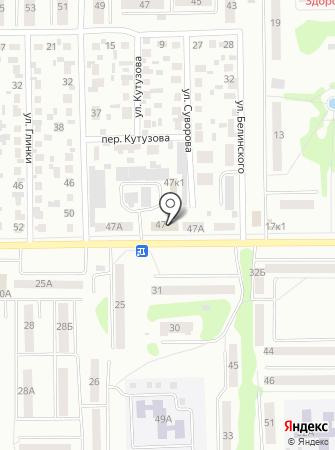 Центр защиты населения и единая дежурно-диспетчерская служба по Искитимскому району на карте