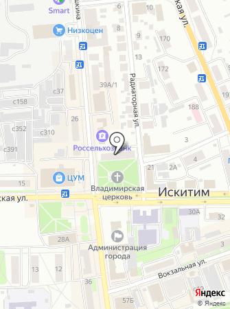 Общественная приемная депутата Законодательного Собрания Новосибирской области Канунникова С.И. на карте