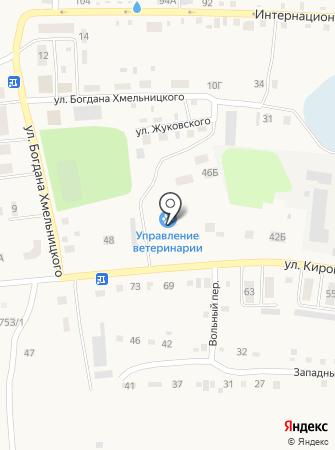 Управление ветеринарии Черепановского района, ГБУ на карте
