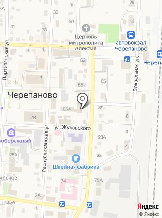 Почтовое отделение №520 на карте