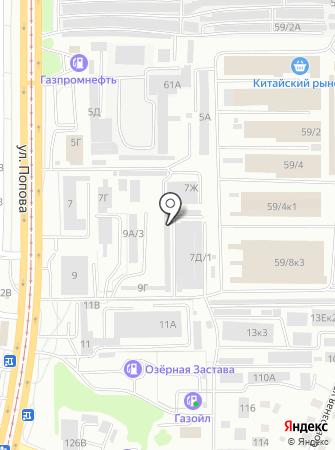SubaruRoom на карте