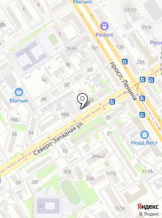 Ландора на карте