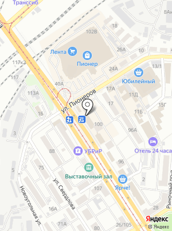 Купидон на карте