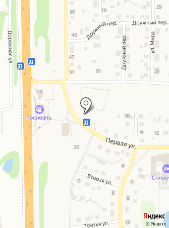 Солнечное, ТСЖ на карте