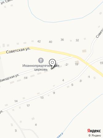 Старый Привал на карте