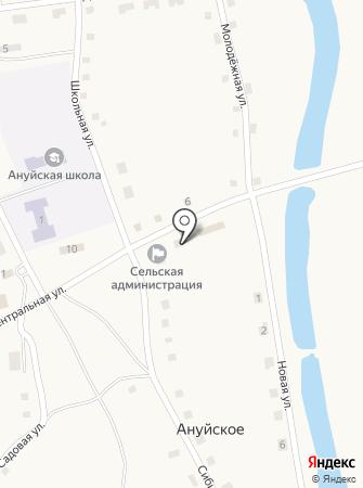 Автоматическая телефонная станция на карте