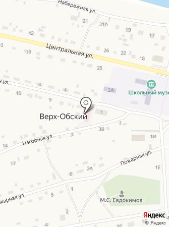 Верх-Обская участковая больница на карте