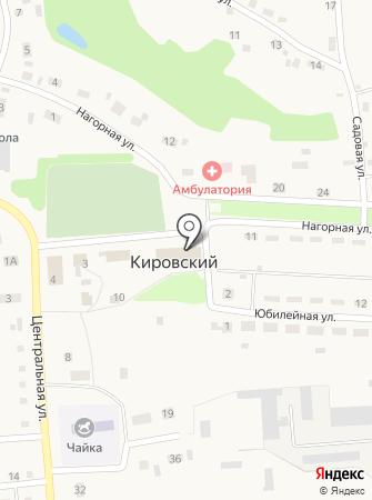 Кировская сельская библиотека им. Валерии Губиной на карте