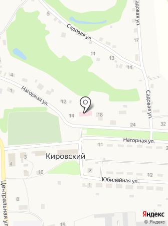 Кировская врачебная амбулатория на карте