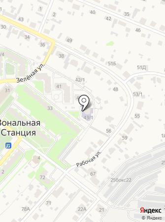 Мелиоративный 43, ТСЖ на карте