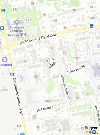 Класс на карте