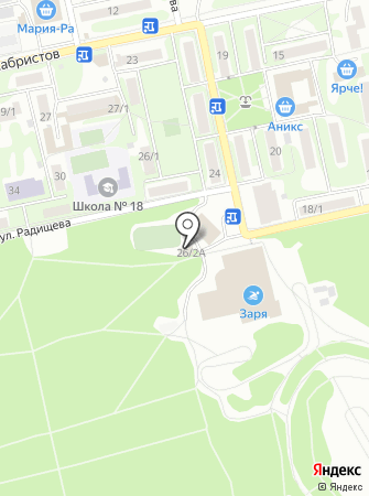Каток на карте