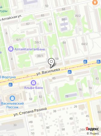 Центр Ванн на карте