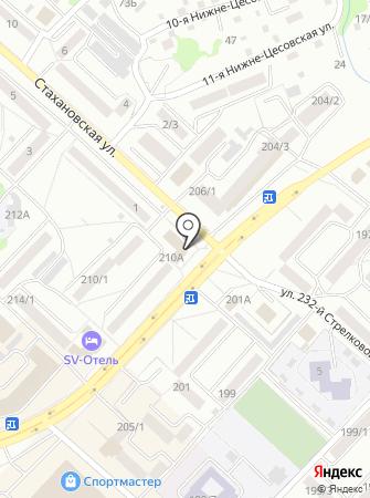 Сайт-Визитка на карте