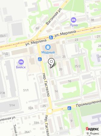 РЭП №8 на карте