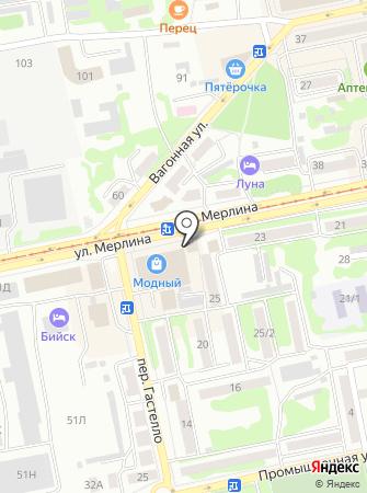 ПКЦ Лютна на карте