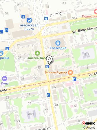 Салон тюли на карте