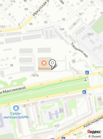 Магазин головных уборов на карте