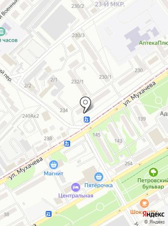 Флёр на карте