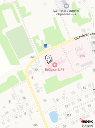 Оптика №2, МУП на карте