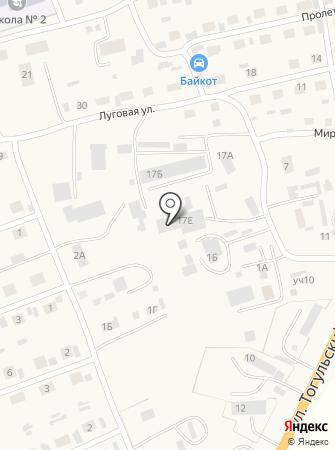Завод металлопрофильных изделий на карте