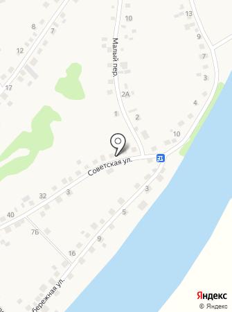 Алина на карте