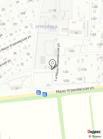 Кузнечная мастерская на карте