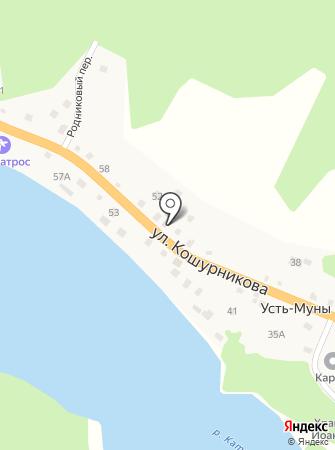 Георгиевская на карте