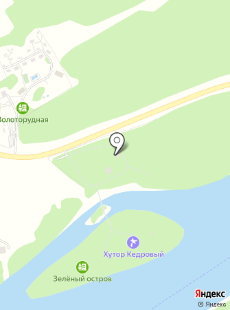 Хутор Кедровый на карте