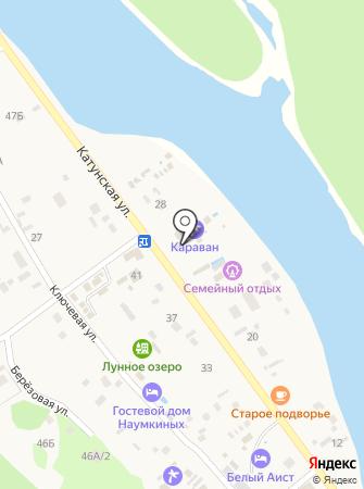Кормилита на карте