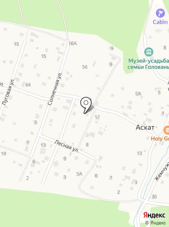 Родничка на карте
