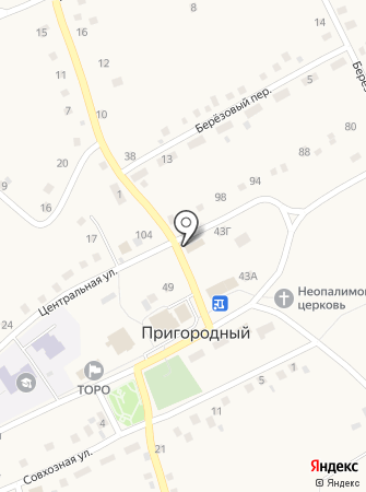 Магазин разливных напитков на Центральной на карте