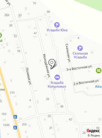 Усадьба Васькиных на карте