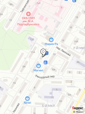 Родео Джинс на карте