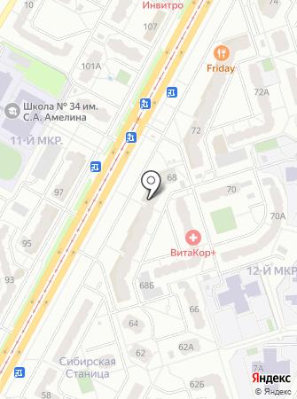 Хлопок на карте
