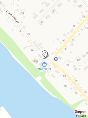 Елыкаевское на карте