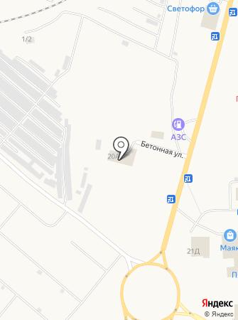 Автосервис на Светлой на карте