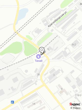 АЗС Танай на карте