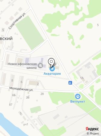 Администрация Сафоновского сельского поселения на карте