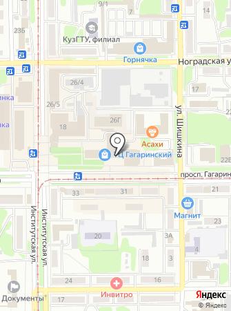 ЭКСТРАНЕТ на карте