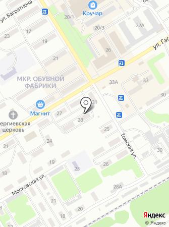 Грандсервис на карте