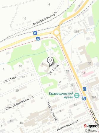 Кравцова А.И на карте