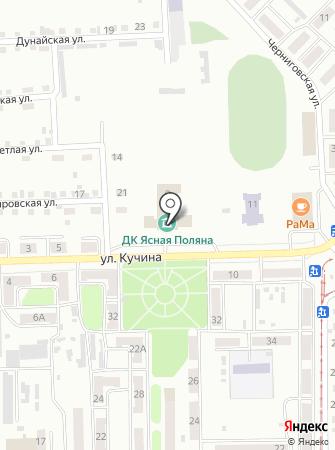 Централизованная библиотечная система, МБУК на карте