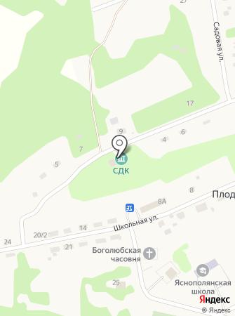 Сельский дом культуры на карте