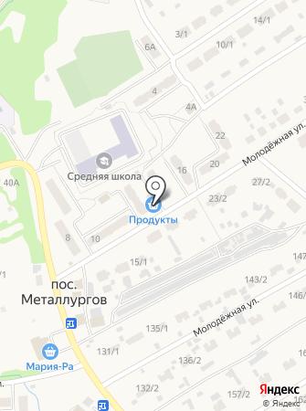 Никитина на карте